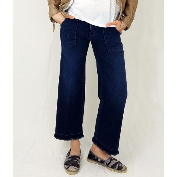 cimarron culotte jeans blau online kaufen bei nova kamen. Black Bedroom Furniture Sets. Home Design Ideas