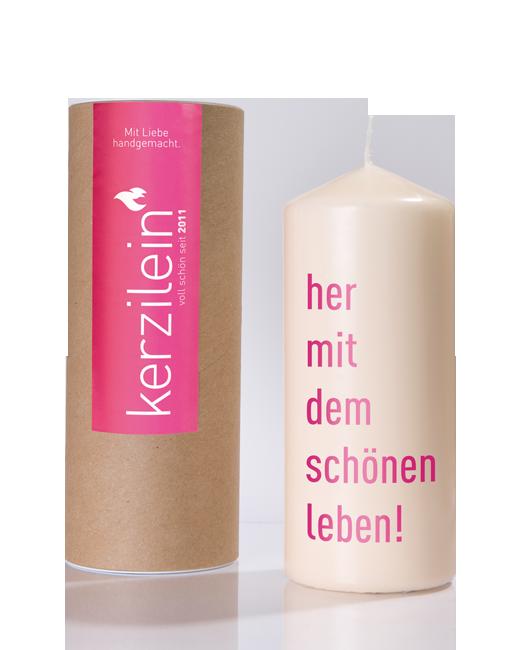 kerzenshop_kerze_hermitdemschoenenleben_pink