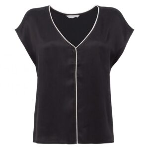 cupro-v-neck-top-with-piping