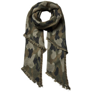 Stannie long scarf camouflage