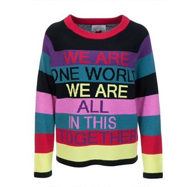 Striped pullover one world