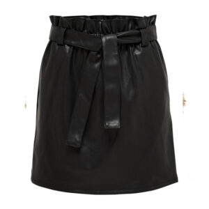 COC PAPERBAG PU SKIRT WVN
