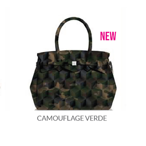 Miss Plus Camouflage Verde