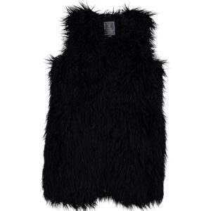 Fake-fur-gilet-black-11936