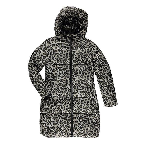 Long-jacket-nylon-printed-black-13005