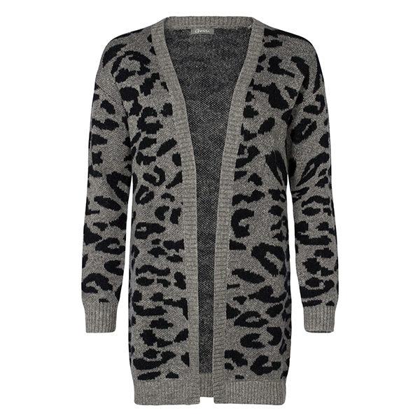 Cardigan-bi-color-leopard-black-15110