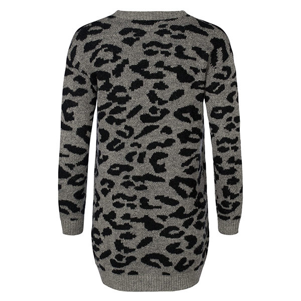 Cardigan-bi-color-leopard-black-15111