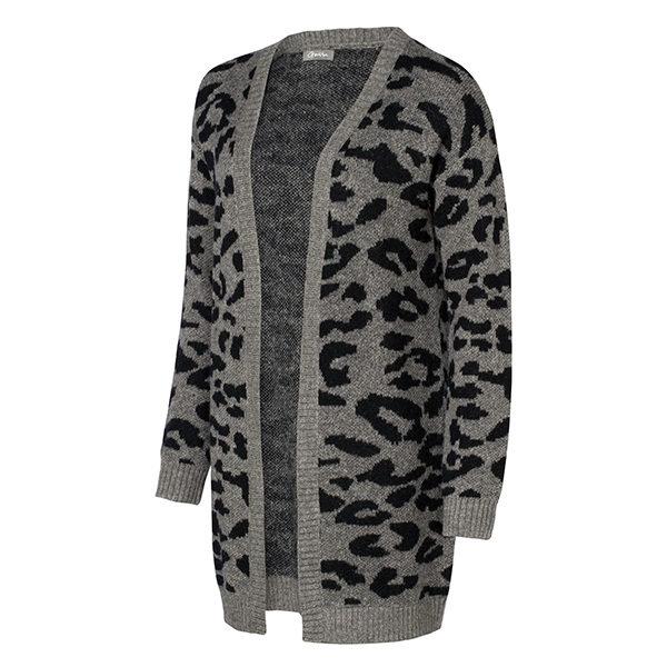 Cardigan-bi-color-leopard-black-15112