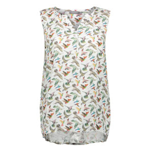 Top-multi-color-birds-sleeveless-white-17995