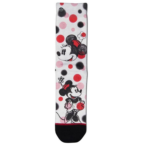 76001 Sock XPOOOS Minnie dots
